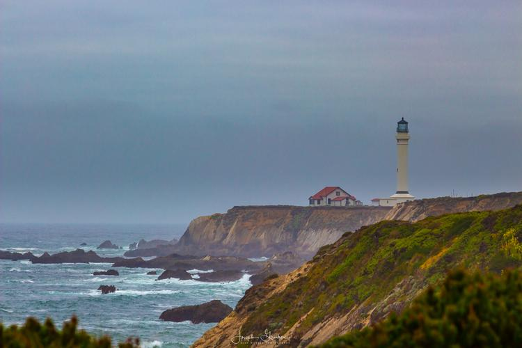The tallest lighthouse on the Pacific coast
