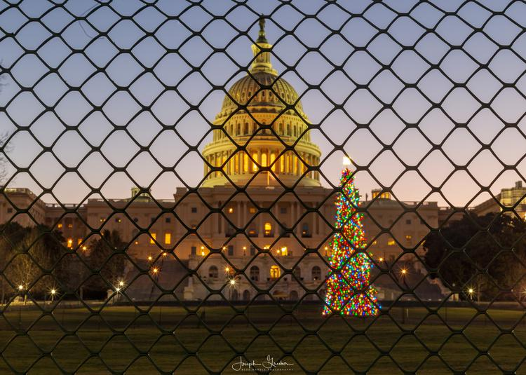 December 2018 - As the US government shutdown began, impacts began to be felt far and wide including at the United States Capitol with limited visiting hours for the Capitol Christmas Tree.